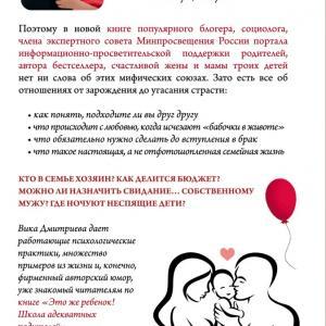 Виктория Дмитриева: Это же любовь! Книга, которая помогает семьям - Психология отношений - Помощь психологов Челябинской области
