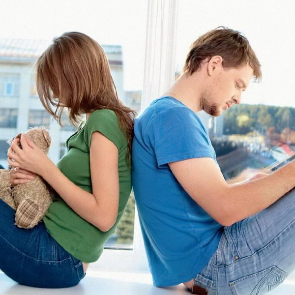 Когда женщина категорически отказывается заводить ребенка - You know, It's all between us - Ты знаешь, это между нами...